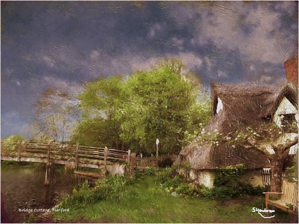 Bridge Cottage, Flatford by Stuart1956