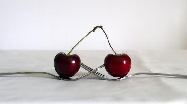 Kissing Cherries by PrunellaCara