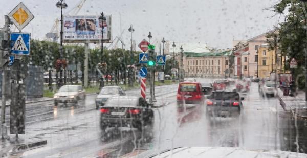 It rains in Russia as well by SueLeonard