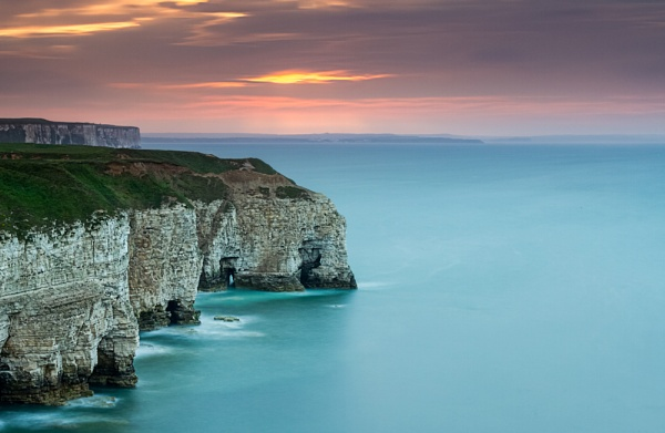 A Clifftop View by phillG