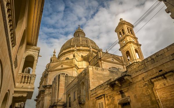 Gozo Church by fossie1955