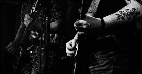 Lead & Rhythm guitars by saltireblue