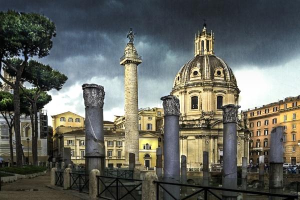 Stormy Skies Over Rome by WeeGeordieLass