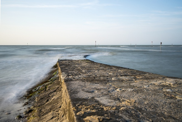 Margate High Tide by doverpic