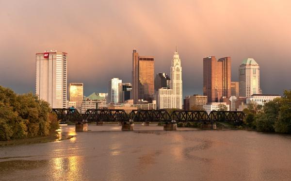 Columbus Skyline by NevJB