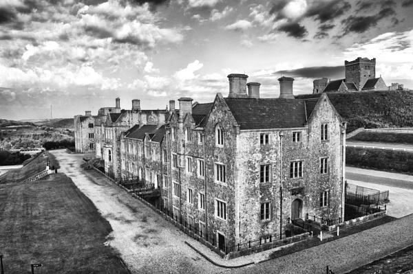 Dover castle ground by mogobiker