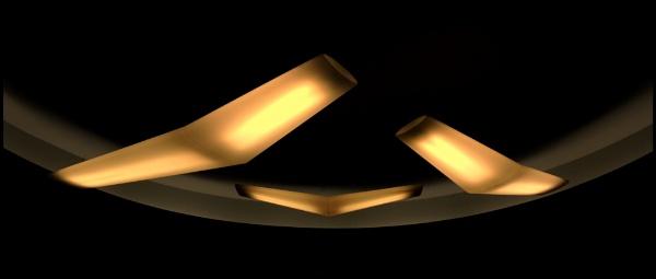 Light fixture by Aldo Panzieri