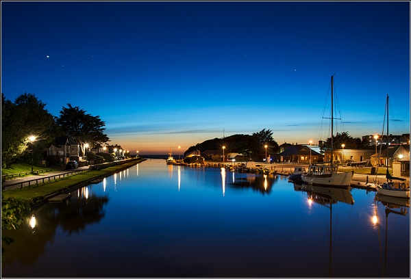 Bude by Night by BlueRoom