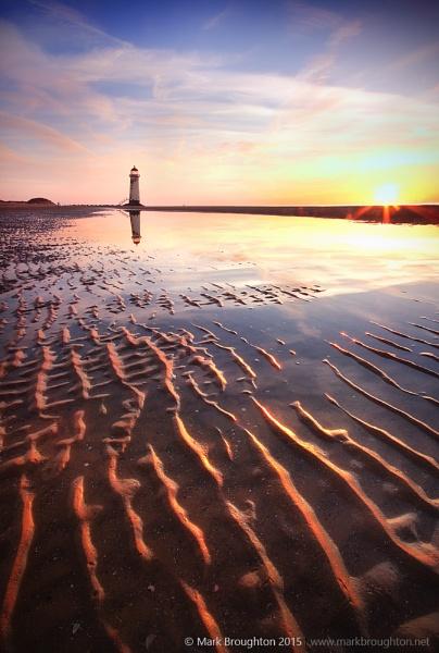 Talacre Sunset by MarkBroughton
