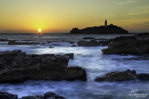 Godrevy Sunset by sunsetskydancer