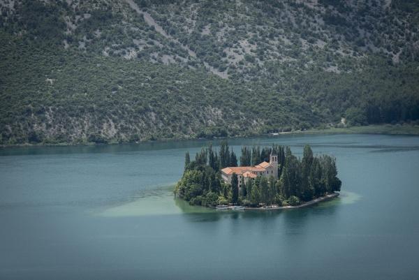 Krka monastery by Kim Walton
