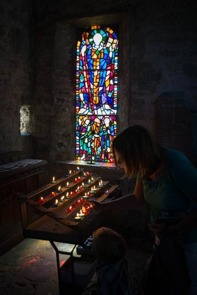 Caldey Island church by davidb