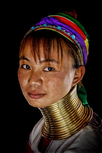 young karen tribeswoman by sawsengee