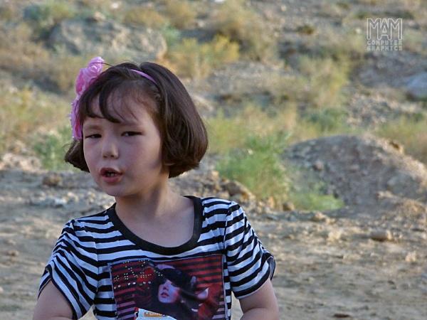 Mongol girl by Majnoon