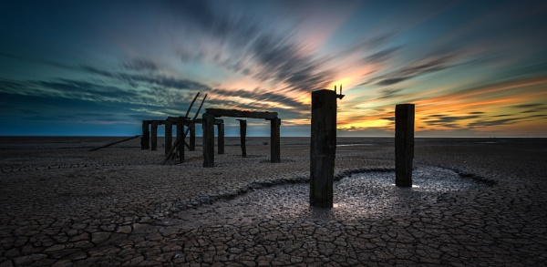 Snettisham jetty by ianrobinson
