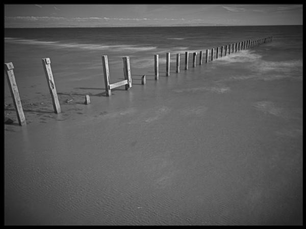 Sea Defences by buddiePhotographer