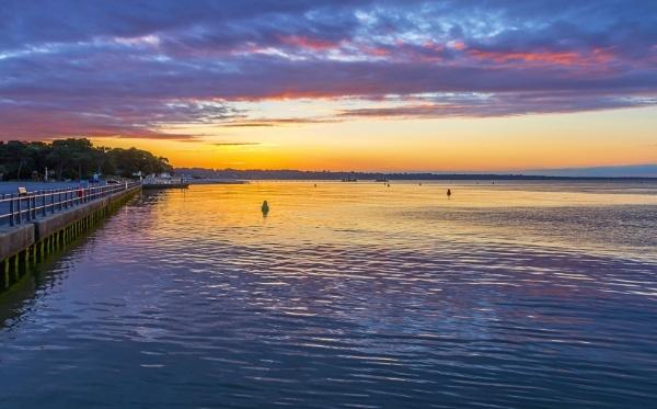 Mudeford Dawn by NickLucas
