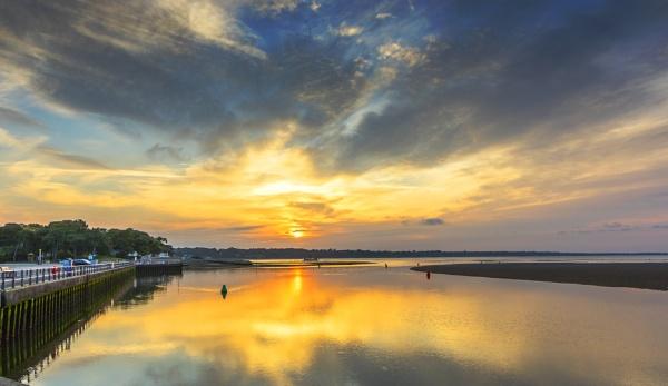 Sunrise Mudeford June 16 by NickLucas