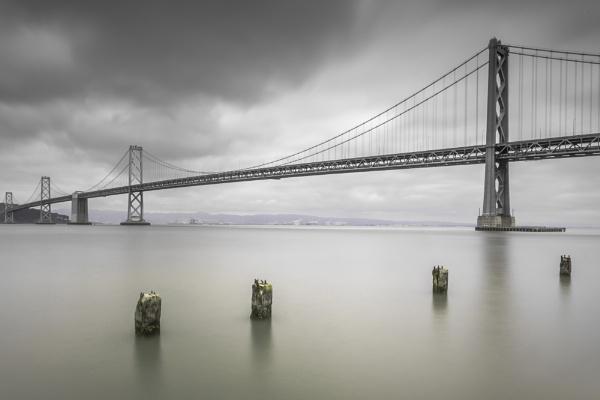The San Francisco - Oakland Bay Bridge by MunroWalker