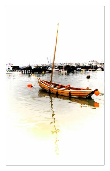 Bridlington harbour by shaz4