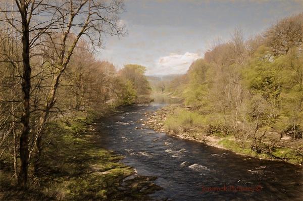 River Wharfe by jonirock