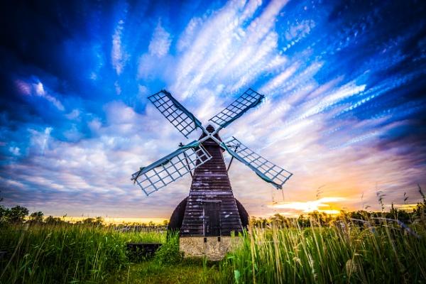 Wicken Fen windpump, Cambridgeshire by ahesharpe