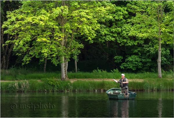 Flyfisherman by Mstphoto