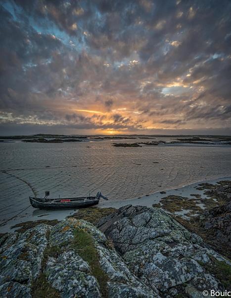 Connemara Sunset by bouic