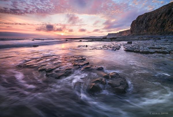 Glamorgan Heritage Coast last week. by Tynnwrlluniau