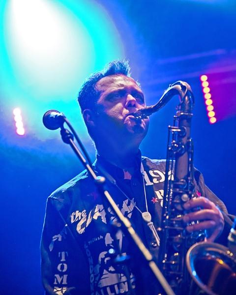 sax player by stefan