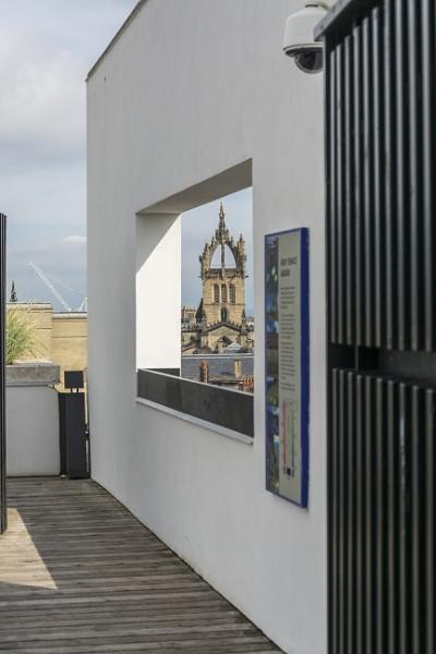 Framed Church by michaelharris
