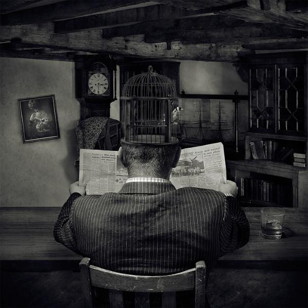 Melancholic Man by Nick_w