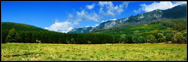 Ranges of Northern Tasmania by QuinnyA