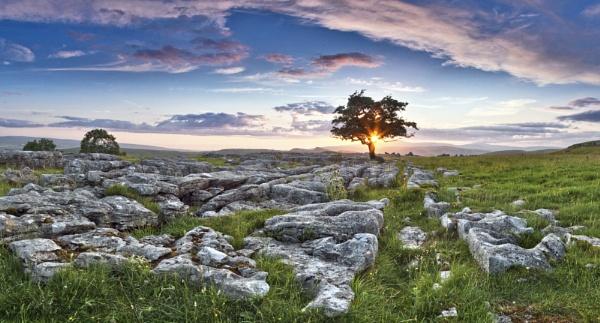 Winskill sunset by YorkshireSam