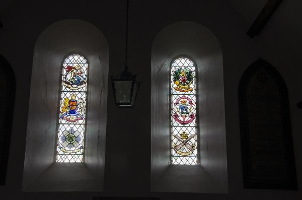 Branxton church windows by luckybry