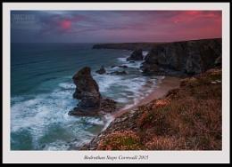 Bedruthan Steps Cornwall sunrise...