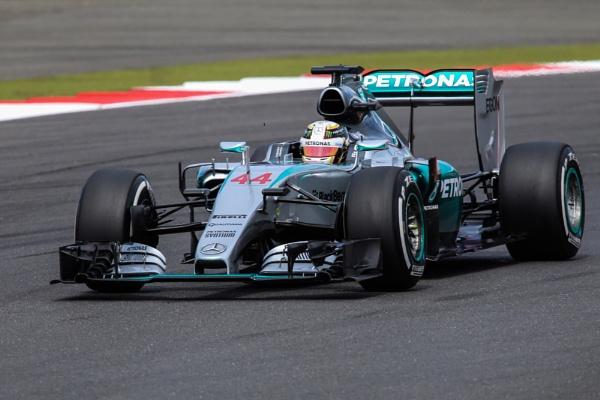 Lewis Hamilton at Silverstone by glendalough