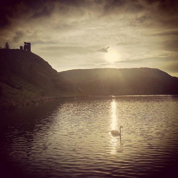 St. Margarets Loch Edinburgh by paulmacbride