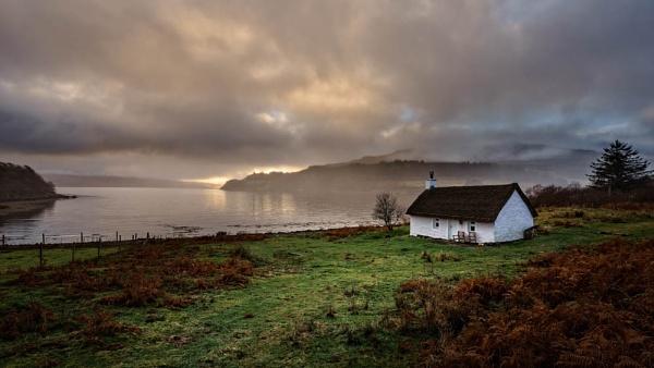 The fishermans cottage, Kilfinichen Bay, Mull by milo42
