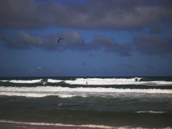 Sea Kite Man by jmcca
