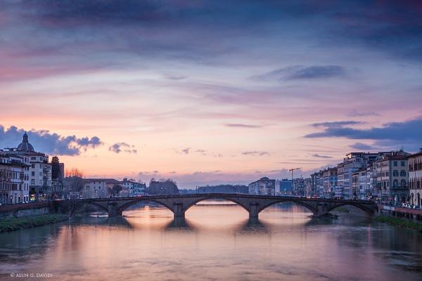 River Arno, Firenze by Tynnwrlluniau