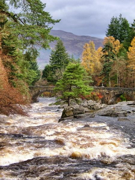 The River Dochart at Killin by DanfromScotland