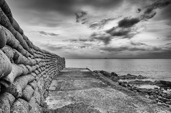 Sandbag Wall by widtink