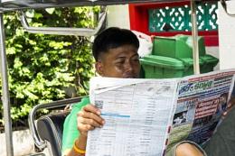 Tuktuk Driver on a Break