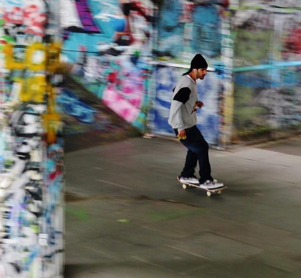 Skateboarding by lblythe