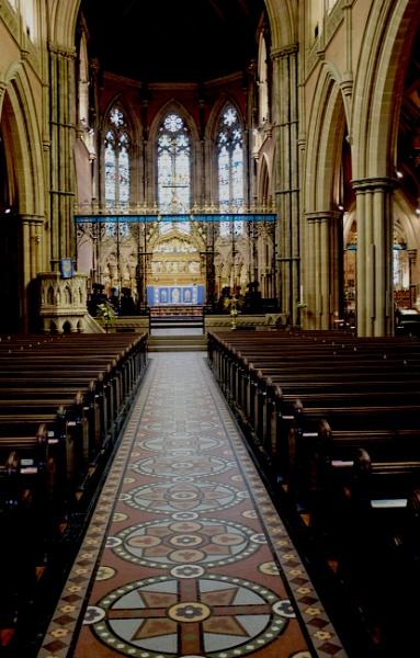 Parish Church Bury by sonsdad