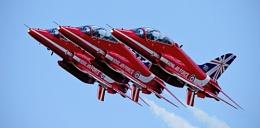 Red Arrows at Dawlish Airshow