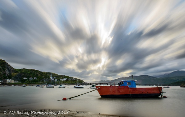 Barmouth Lights by Alffoto