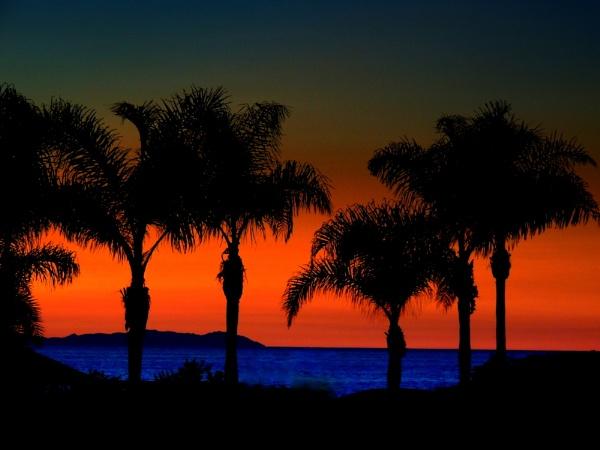 Sunset in Laguna by Aldo Panzieri