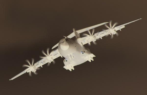 Airbus A400M (Negative version) by Kako